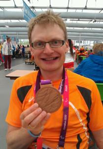 Rinne Oost met bronzen medaille