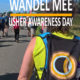 Wandel mee op Usher Awareness Day!